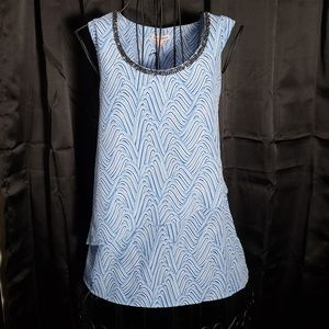 Juicy Couture Dressy No Sleeve Blouse NWT